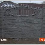Ogrodzenie betonowe nr 52