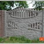 Ogrodzenie betonowe nr 58